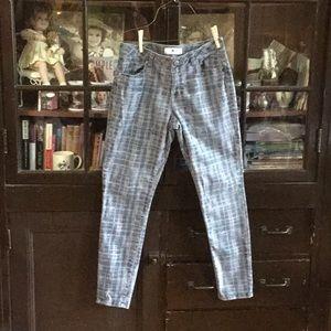 Cabi plaid jeans